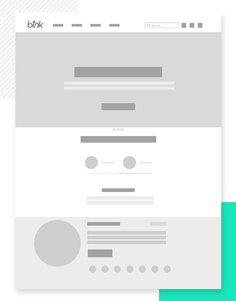 bink电商网页设计流程
